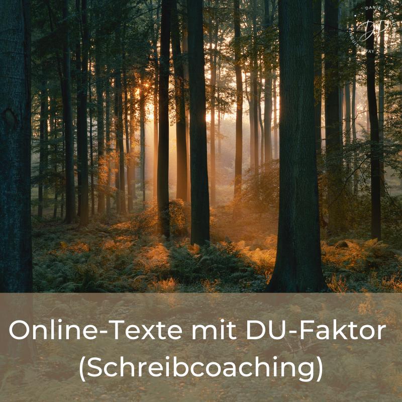 Schreibcoaching mit Linguistsway für mehr DU in deinen Texten