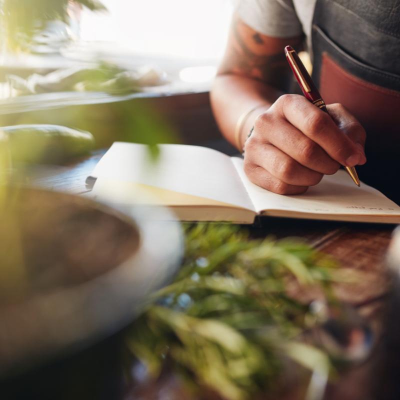Entdecke deine Schreibkraft